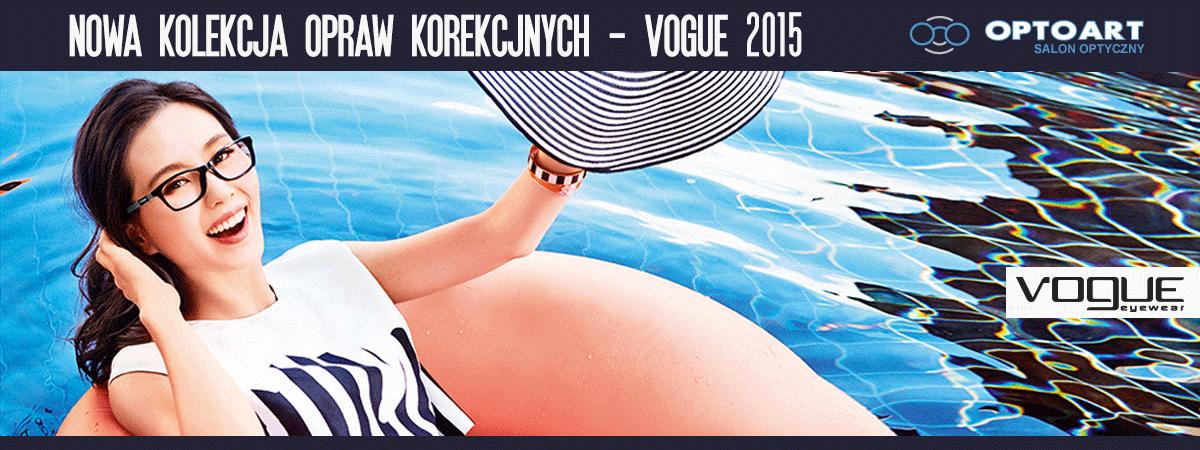 Nowe korekcyjne oprawy od Vogue tylko dla Pań 2015