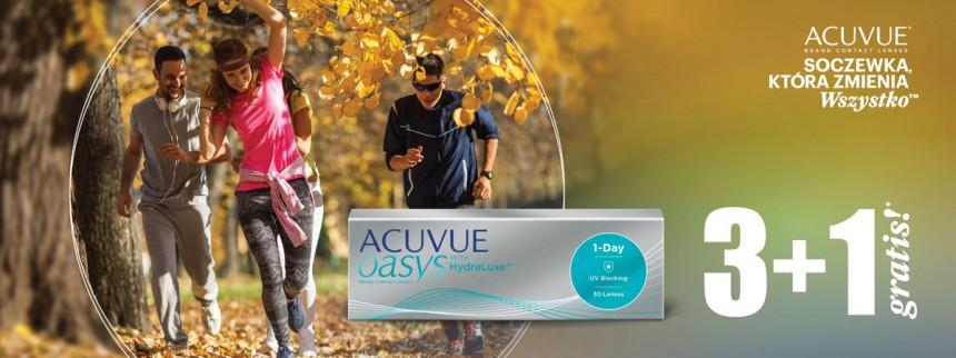 Avuvue Oasys 1-day w promocji 3+1