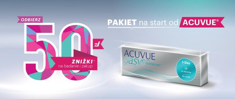 Pakiet na start od Acuvue